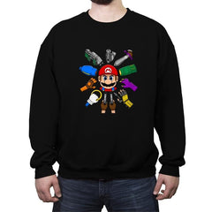Super Wickio - Crew Neck Sweatshirt - Crew Neck Sweatshirt - RIPT Apparel
