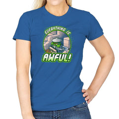 Everything is Awful Exclusive - Womens - T-Shirts - RIPT Apparel