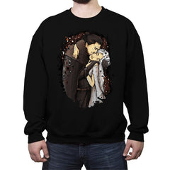 Game of Kisses - Crew Neck Sweatshirt - Crew Neck Sweatshirt - RIPT Apparel