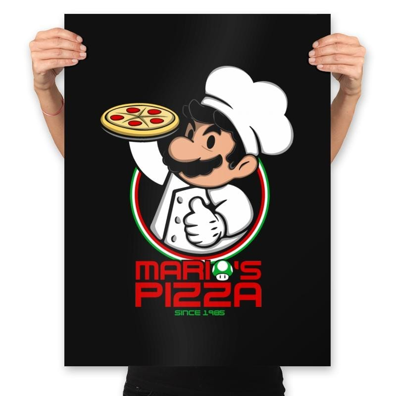 Plumber Pizza - Prints - Posters - RIPT Apparel