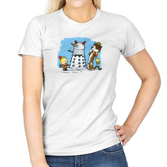 The Snow Dalek Exclusive - Womens - T-Shirts - RIPT Apparel