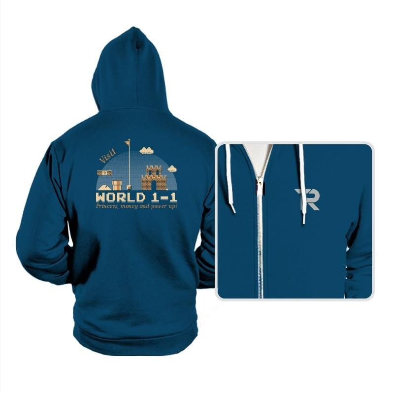 WORLD 1-1 - Hoodies - Hoodies - RIPT Apparel