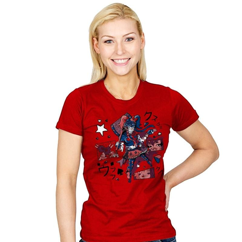 Harajuku Harley Exclusive - Womens - T-Shirts - RIPT Apparel
