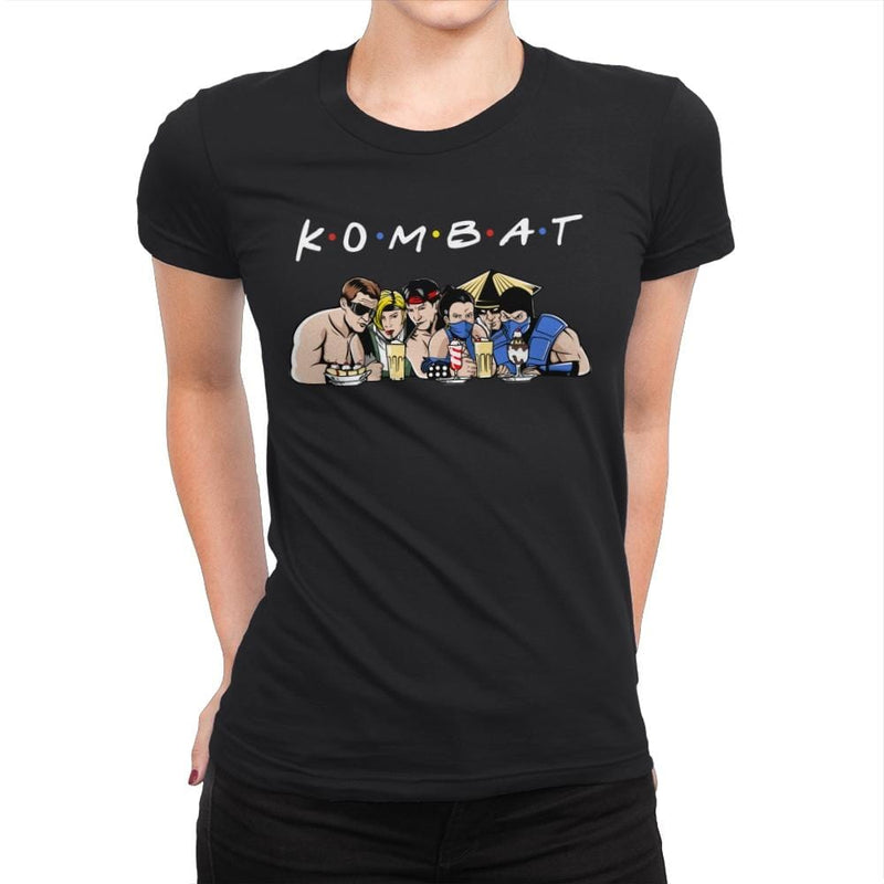 Kombat - Womens Premium - T-Shirts - RIPT Apparel