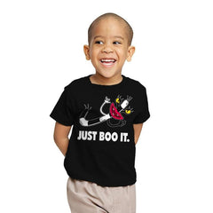 JUST BOO IT! - Youth - T-Shirts - RIPT Apparel