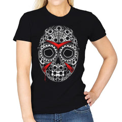 Sugar Skull Slasher - Womens - T-Shirts - RIPT Apparel