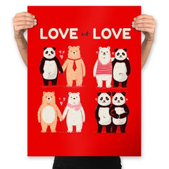 Love Is Love  - Prints - Posters - RIPT Apparel