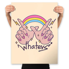 Whatevs! - Prints - Posters - RIPT Apparel