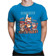 Fetch Quest - Mens Premium - T-Shirts - RIPT Apparel