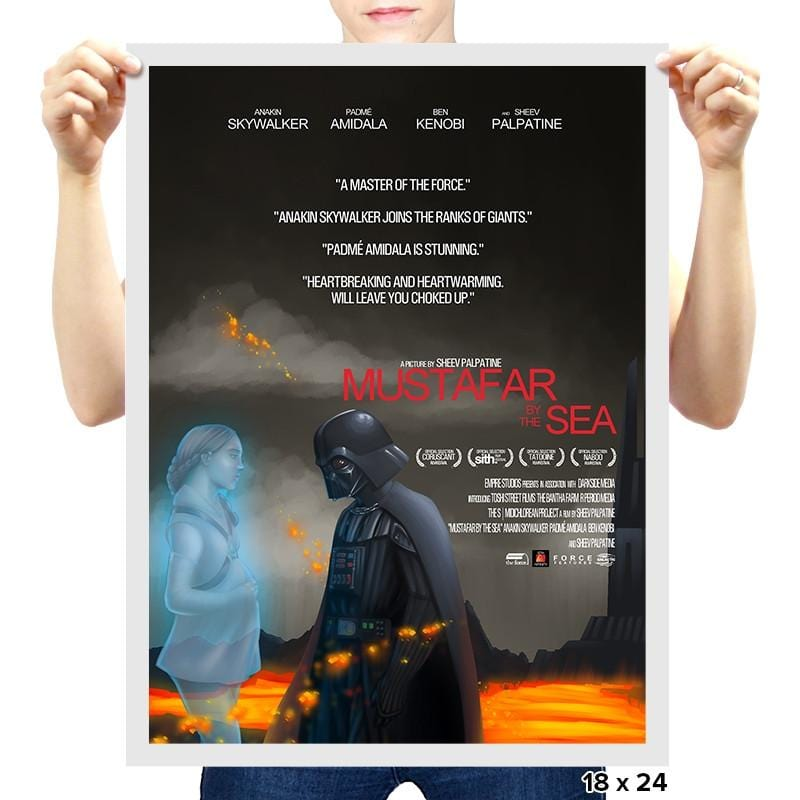 Mustafar by the Sea - RIPTcademy2017 - Prints - Posters - RIPT Apparel