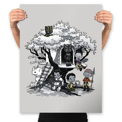 Tree House - Prints - Posters - RIPT Apparel