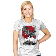 The King of Terror Attack - Womens - T-Shirts - RIPT Apparel