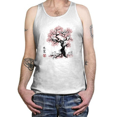 Forest Spirits Sumi-E - Sumi Ink Wars - Tanktop - Tanktop - RIPT Apparel