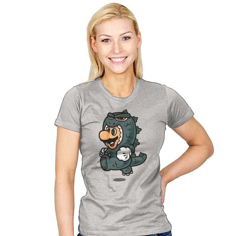 Super Jump Gojira - Womens - T-Shirts - RIPT Apparel