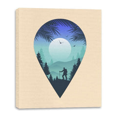 Pin Your Destination - Canvas Wraps - Canvas Wraps - RIPT Apparel