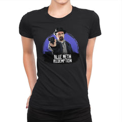 Blue Meth Redemption - Womens Premium - T-Shirts - RIPT Apparel