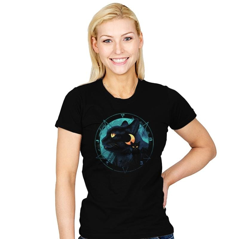 Puss the Evil Cat - Womens - T-Shirts - RIPT Apparel