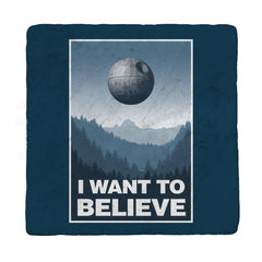 I Want To Believe - Coasters - Coasters - RIPT Apparel