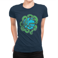 Monster of the Deep - Womens Premium - T-Shirts - RIPT Apparel
