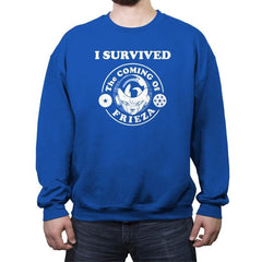 Frieza Survivor - Crew Neck Sweatshirt - Crew Neck Sweatshirt - RIPT Apparel
