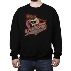 Washington Saviors - Crew Neck Sweatshirt - Crew Neck Sweatshirt - RIPT Apparel