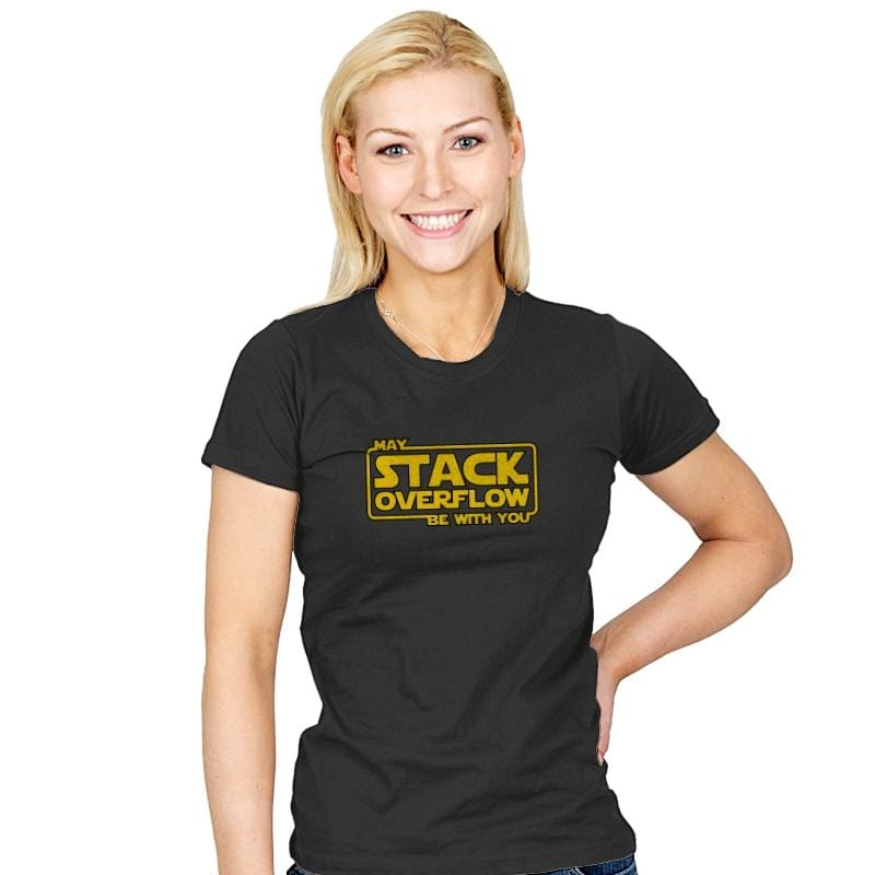 May Stack Be With You - Womens - T-Shirts - RIPT Apparel
