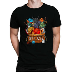 Let's Roll - Mens Premium - T-Shirts - RIPT Apparel