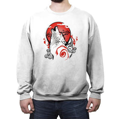 Goddess of the Sun Reprint - Crew Neck Sweatshirt - Crew Neck Sweatshirt - RIPT Apparel