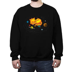 The Center of My Universe - Crew Neck Sweatshirt - Crew Neck Sweatshirt - RIPT Apparel