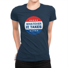 Vote-ver - Womens Premium - T-Shirts - RIPT Apparel