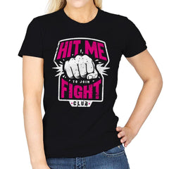 Fight Club Entrance - Womens - T-Shirts - RIPT Apparel