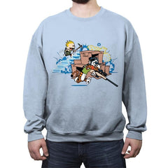 Fort Night - Crew Neck Sweatshirt - Crew Neck Sweatshirt - RIPT Apparel