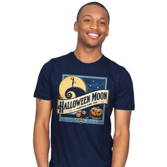 Halloween Moon - Mens - T-Shirts - RIPT Apparel