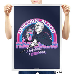 Unicorn Blood Frappe - Prints - Posters - RIPT Apparel