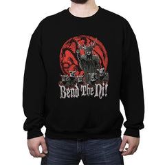 Bend the Ni - Crew Neck Sweatshirt - Crew Neck Sweatshirt - RIPT Apparel