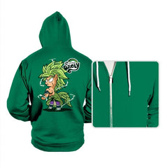 My Little Broly B - Hoodies - Hoodies - RIPT Apparel