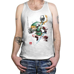 Twilight Princess Watercolor - Tanktop - Tanktop - RIPT Apparel