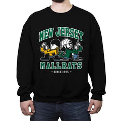 New Jersey Mallrats - Crew Neck Sweatshirt - Crew Neck Sweatshirt - RIPT Apparel