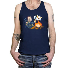 Stay-Burnt, Marshmallow Man Exclusive - Tanktop - Tanktop - RIPT Apparel