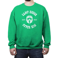 Camp Endor Reprint - Crew Neck Sweatshirt - Crew Neck Sweatshirt - RIPT Apparel
