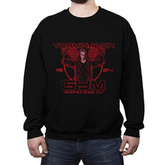 Terminator Gym - Crew Neck Sweatshirt - Crew Neck Sweatshirt - RIPT Apparel