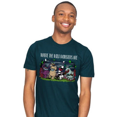 Wild Monsters - Mens - T-Shirts - RIPT Apparel
