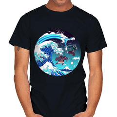 Breath of the Great Wave - Mens - T-Shirts - RIPT Apparel