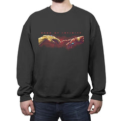 HAND OF INFINITY - Crew Neck Sweatshirt - Crew Neck Sweatshirt - RIPT Apparel