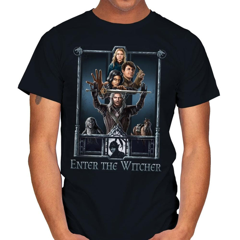 Enter The Witcher - Mens - T-Shirts - RIPT Apparel