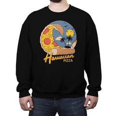 Hawaiian Pizza - Crew Neck Sweatshirt - Crew Neck Sweatshirt - RIPT Apparel