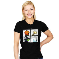 Ghouliez: Halloween Daze - Womens - T-Shirts - RIPT Apparel