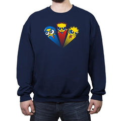 The Powerplant Kids - Crew Neck Sweatshirt - Crew Neck Sweatshirt - RIPT Apparel