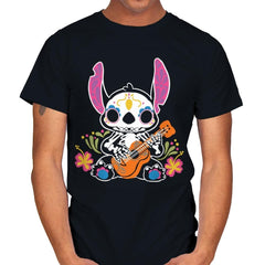 Calavera Alien - Mens - T-Shirts - RIPT Apparel