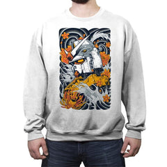 Mecha Otaku - Crew Neck Sweatshirt - Crew Neck Sweatshirt - RIPT Apparel